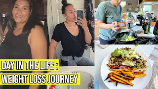 DAY IN THE LIFE / WHAT I EAT IN A DAY /  WEIGHT LOSS JOURNEY VLOG