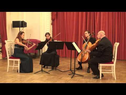 L. Van Beethoven - String Quartet Op.18 No. 4 (Бетховен - Струнный квартет до-минор Op.18 №4 )
