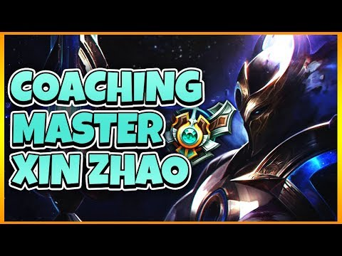 Tarzaned | COACHING MASTER TIER XIN ZHAO (COMPETITIVE SCRIMS)