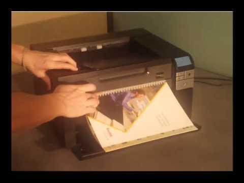 Kodak i2900 Scanner with integrated Flatbed