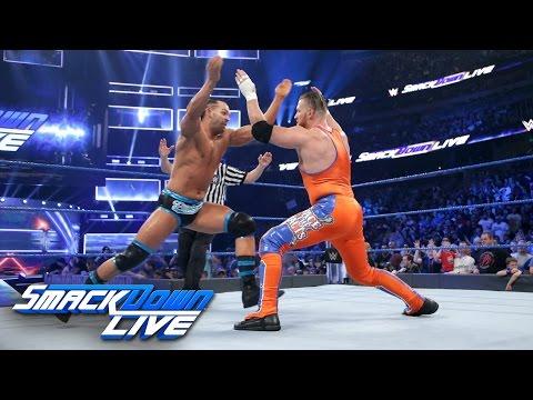 Tye Dillinger debuts against Curt Hawkins: SmackDown LIVE, April 4, 2017