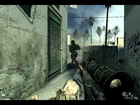 Call of Duty 4  MW en Ati Radeon x600(128mb)