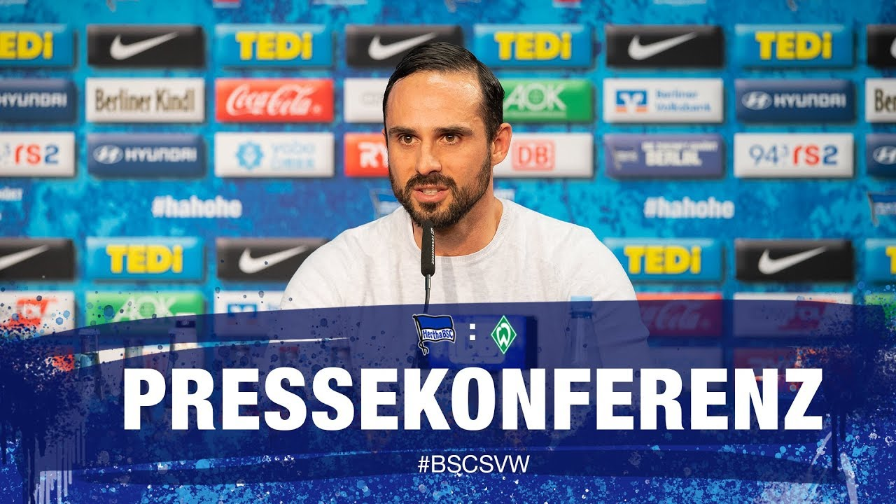PK nach Werder Bremen - Bundesliga - 25. Spieltag - Hertha BSC
