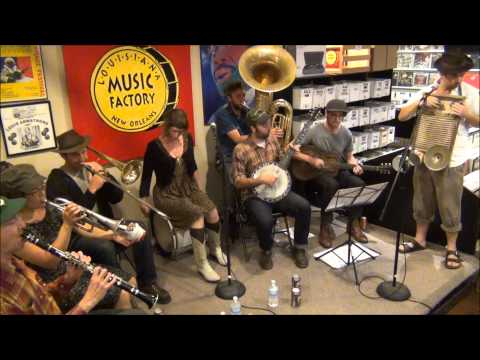 Tuba Skinny @ Louisiana Music Factory 2015 - Southern Sounds Tour Party - PT 1