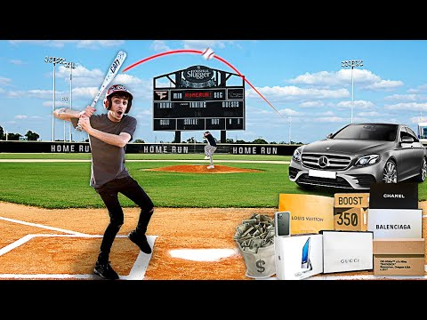 Hit the Home Run, I'll Buy You Anything - Home Run Derby Challenge