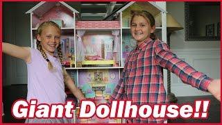 GIANT DOLLHOUSE   KidKraft Country Estate Dollhouse Review