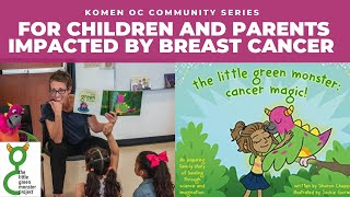 Little Green Monster Live Reading & Activities with Dr. Sharon Chappell