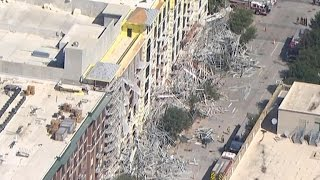Scaffolding collapse in Houston