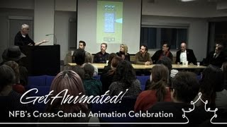 nfb onf get animated panel discussion at ocad in toronto