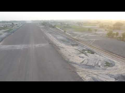 CPEC Sukkur Multan Motorway Progress Aerial View