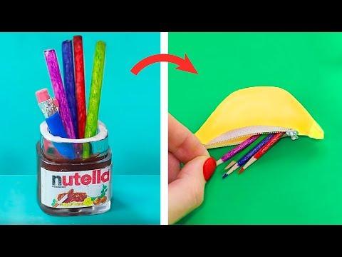 14 DIY Mini Schulsachen, Die Super Funktionieren!