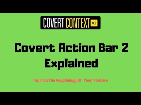 Covert Action Bar 2 Explained