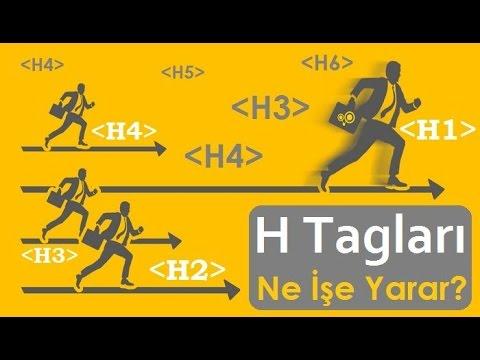 H Tagları Nedir? H1 H2 H3 Tagları Ne İşe Yarar?