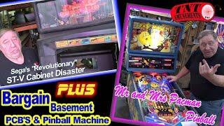 #1429  Segs ST-V Arcade Cabinet Disaster-Mr & Mrs Pacman Pinball-TNT Amusements