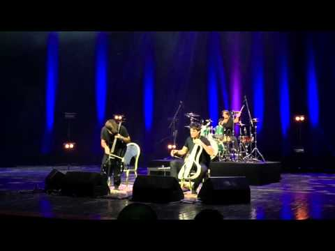 2Cellos Live in Moscow 01.12.14