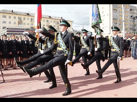 Церемония вручения знамени Управлению ФССП России по Ивановской области