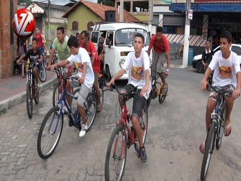 Primeiro Passeio Ciclístico da escola Clécio Penedo em Barra Mansa