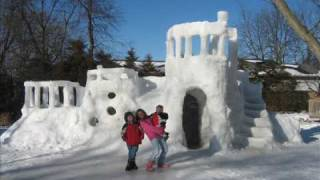 Ice House 2010 Snow Fort