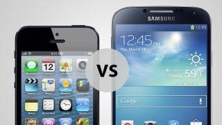 apple iphone 5 vs samsung galaxy s4 der vergleich test deutsch german
