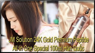 JM Solution 24K Gold Premium Peptide All In One Special 100ml Hàn Quốc