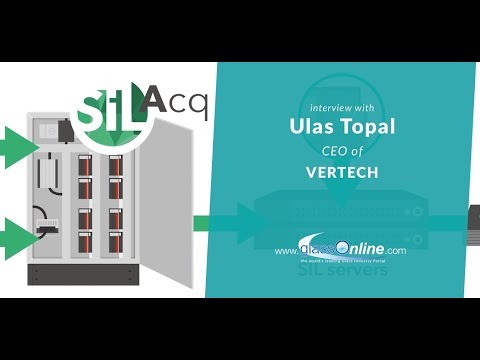 Video interview with Ulas Topal, CEO of Vertech
