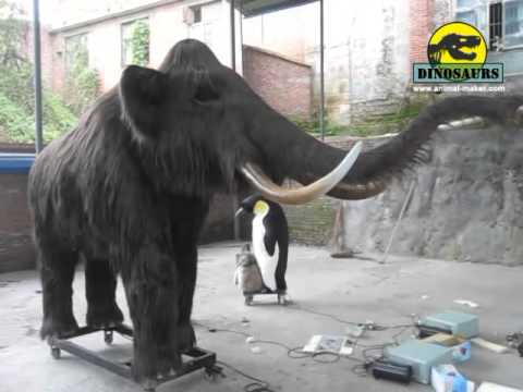 Ice Age Animal Mammoth Jurassic Park Model Dwa111 Youtube