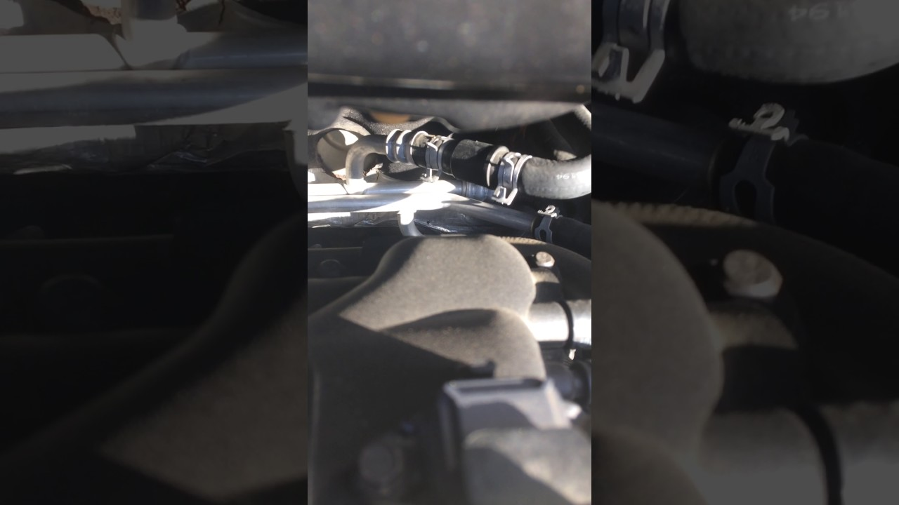 medium resolution of 2003 chrysler town and country leaking coolant fix