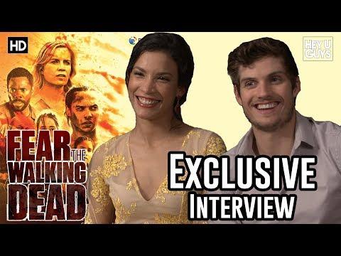 Danay Garcia & Daniel Sharman  Fear the Walking Dead Season 3 Exclusive