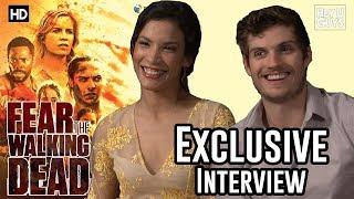 Danay Garcia & Daniel Sharman - Fear the Walking Dead Season 3 Exclusive Interview