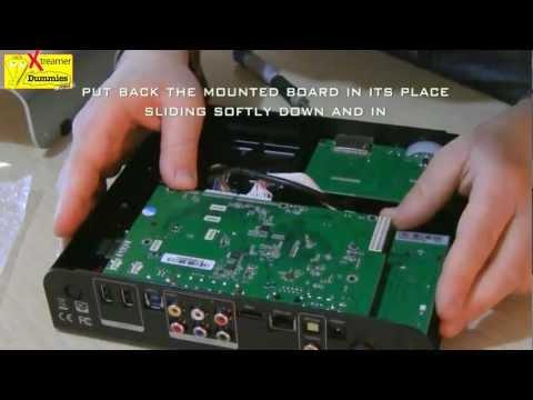 Xtreamer Prodigy - How To Insert Dvb-t Module Inside