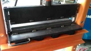 Homemade  Press Brake For Harbor Freight 20 Ton Shop Press