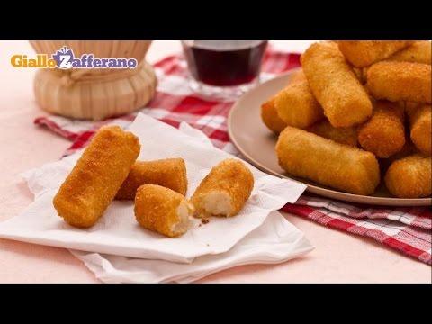 Potato croquettes – recipe
