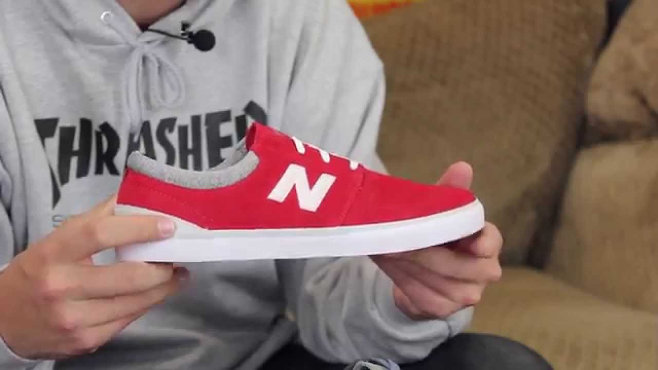 Skate shoes ankle support - New Balance Brighton 344 Skate Shoes Review Tactics Com