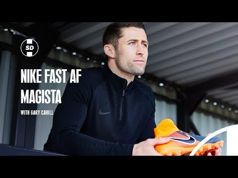 GARY CAHILL INTERVIEW & HEADING CHALLENGE | NIKE FAST AF MAGISTA