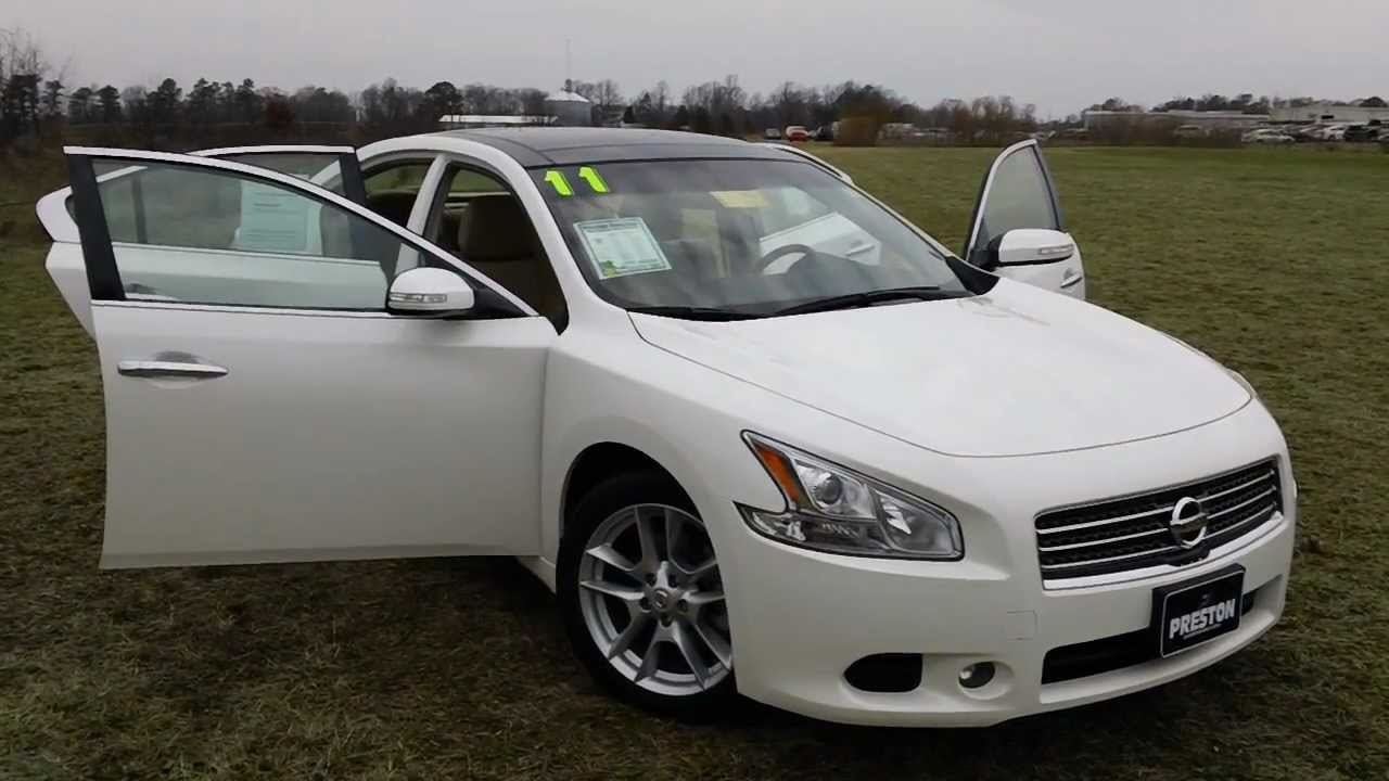Used Nissan Maxima For Sale 2011 3 5 Sv Nissan Warranty