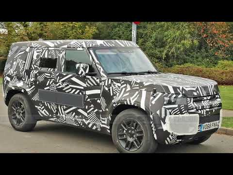 The 2020 Land Rover Defender Looks  as Tough