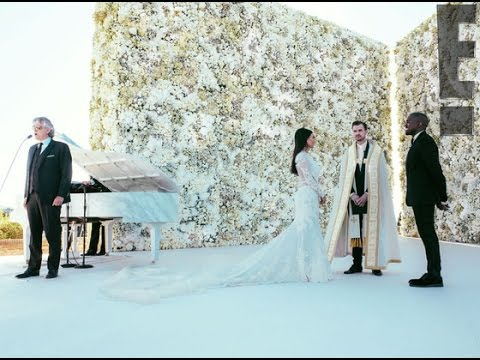 KIM KARDASHIAN & KANYE WEST'S WEDDING