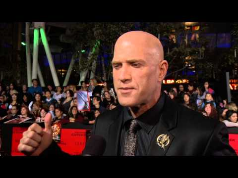 Bruno Gunn at the Catching Fire Los Angeles Premiere