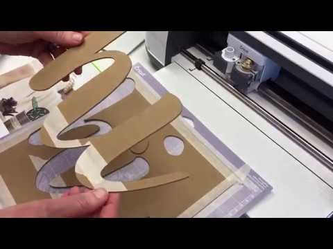 Cutting Chipboard With The Cricut Maker Knife Blade
