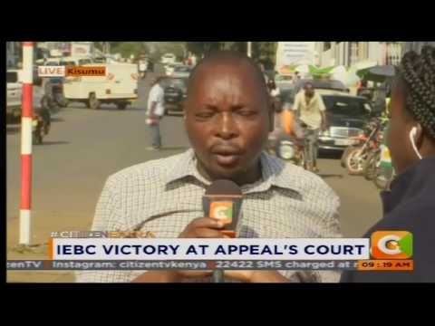 IEBC Victory at Appeal's Court #CitizenExtra