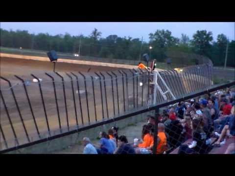 Matt Humphrey- Heat Race at Clay County Speedway 5-10-14