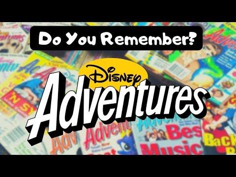 Do You Remember Disney Adventures Magazine?