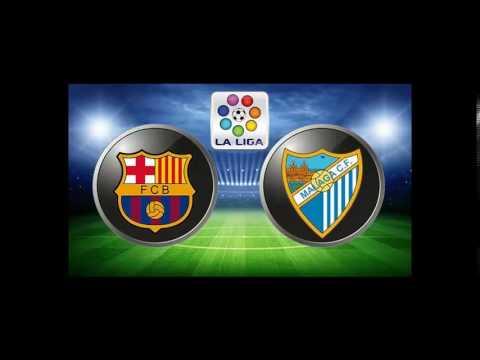 La Liga: FC Barcelona Vs Málaga Hilight