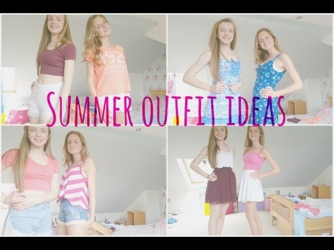 Summer Outfit Ideas by India and Lucy