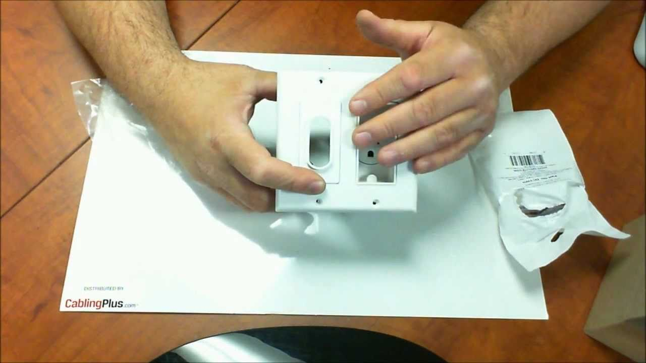 Wall Mount TV Power Solution | Simple solution! - YouTube