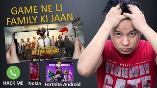 Pubg Mobile Game Killed a Family , Nokia 7.1 Plus , Honor 8x , Fortnite Android, WhatsApp Calling