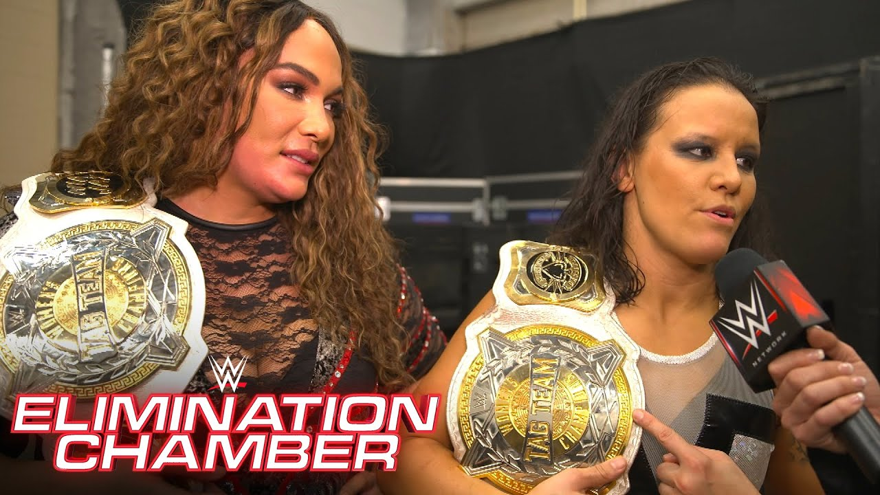 Jax & Baszler claim to be the top champions in WWE: WWE Network Exclusive, Feb. 21, 2021