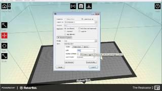 3D Printing Part 2 stl to x3g