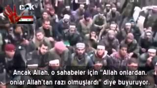 Türk Selefinin Suriye şehrinde yaptığı dehşet konuşma - Suriye Gerçekleri