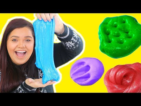 Thumbnail: Best DIY Slime Recipes WITHOUT GLUE OR BORAX! How To Make Glue & Borax Free Slime